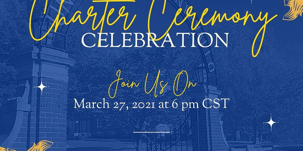 Undergraduate Chartering Ceremony