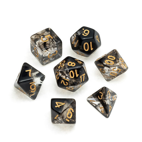 Nebula Series: Black - Numbers: Gold