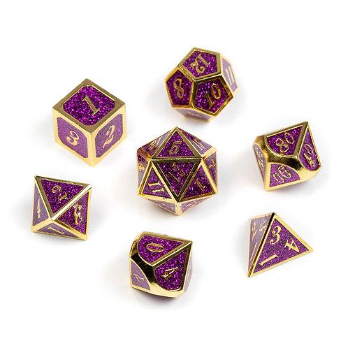 Gold Series: Purple Glitter