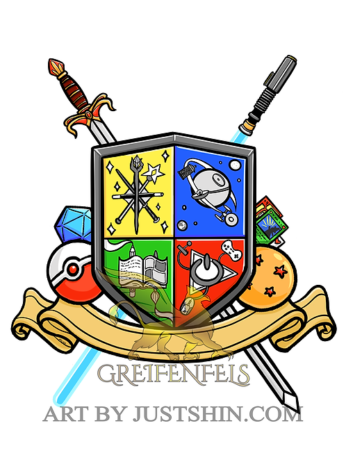 Greeting card: Coat of arms