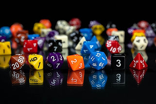 Opaque Acrylic Dice