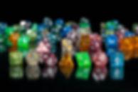 Glitter Acrylic Dice
