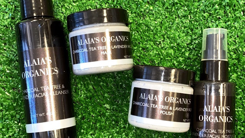 Charcoal Tea Tree & Lavender Facial Cleanser Kit