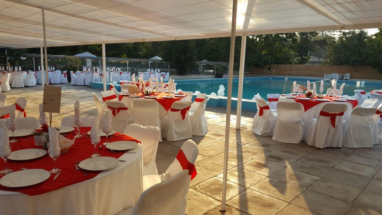 Matrimonio en piscina