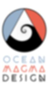 Brand Logo OceanMagma Design