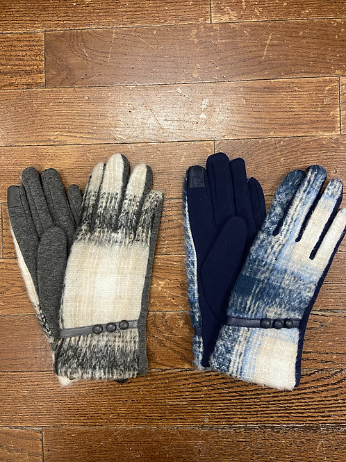 Plaid Glove