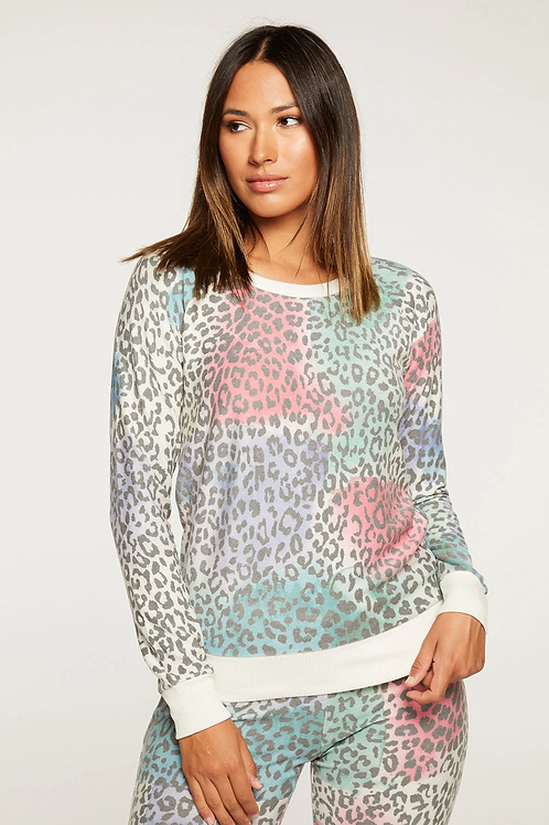 Painted Leopard Sweater