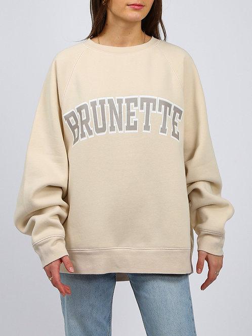 Brunette - Not Your Boyfriends Crew Neck