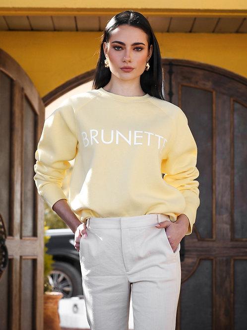 The Brunette Classic Crew Neck Sweater