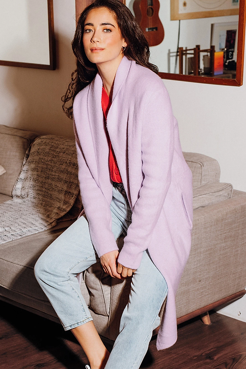 The Stockport Jacket - Lilac