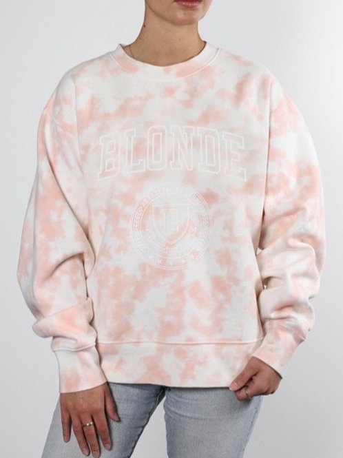 The Blonde Marble Tie Dye Step Sister Sweater
