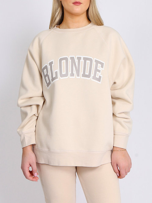 Blonde - Not Your Boyfriends Crew Neck
