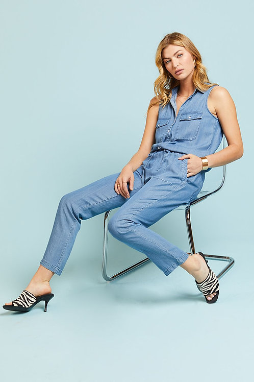 Fade Out Pull On Jumpsuit
