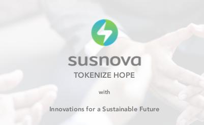 SUSNOVA VALUTA A TOKENISATION FOR HOPE