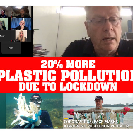 PLASTIC POLLUTION INCREASES BY 20% DUE TO LOCKDOWN