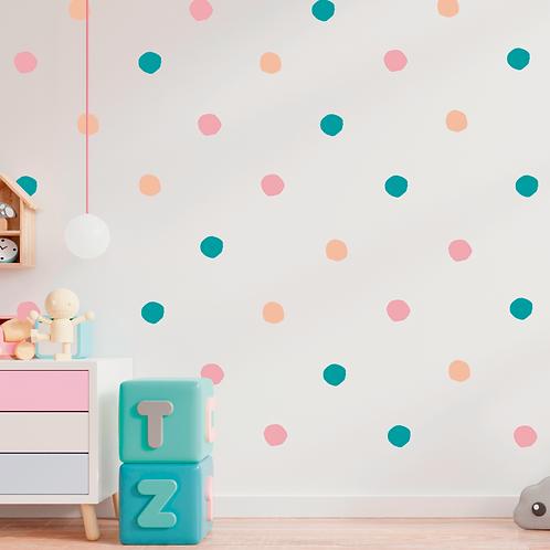 Deco Wall Polka Dots