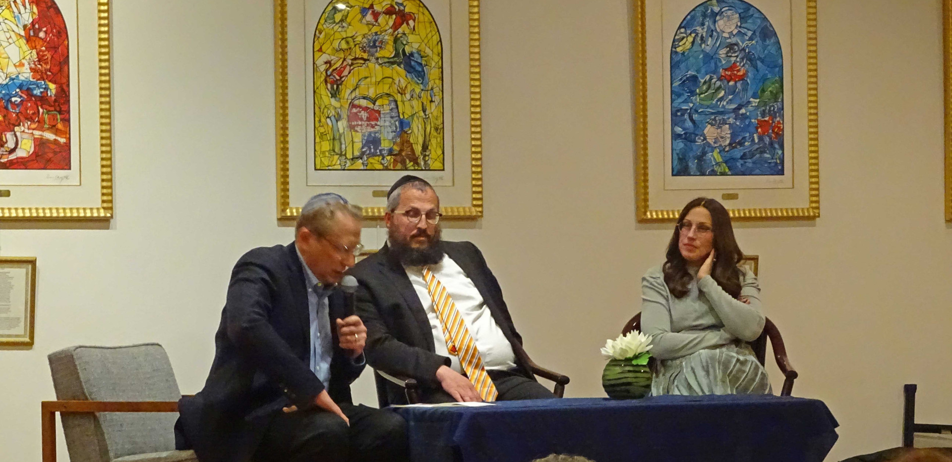 Dr. Rich Gerber, Rabbi Dovid & Binie Holtzberg