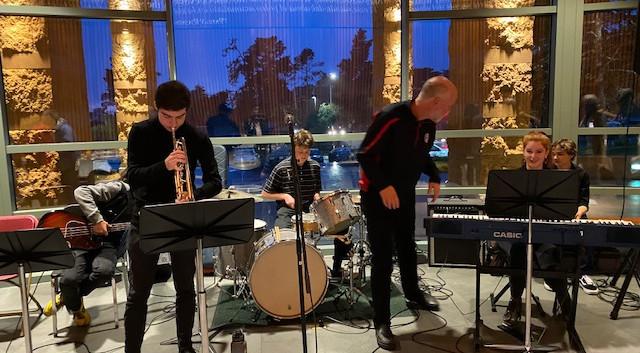 Brian Handley & CHS musicians