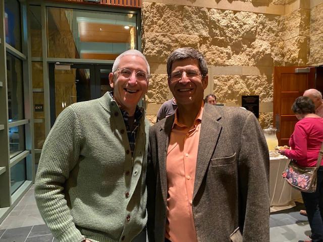 Dr. Harlin Grogin, Rabbi Bruce Greenbaum