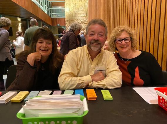 Susan & Rich Platt, Shelley Kroopf