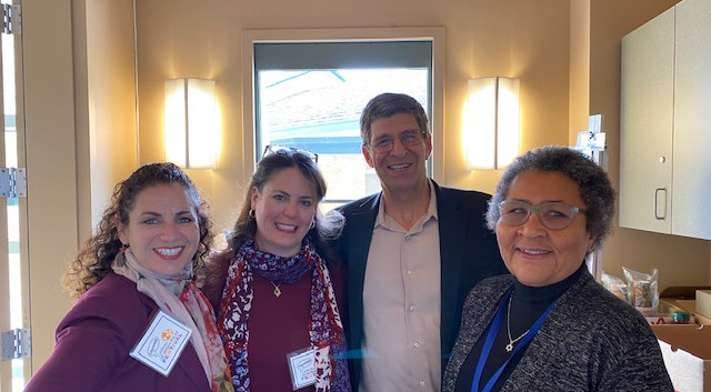 Monica Browning, Wendy Rosenthal, Rabbi Bruce Greenbaum, Bari Tolliver