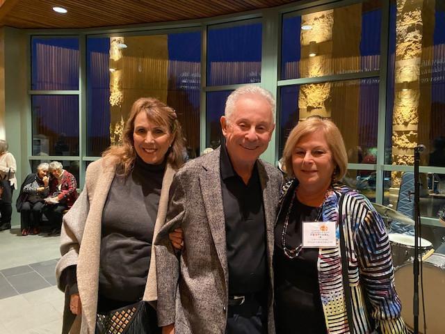 Francesca & Martin Wolf, Susan Greenbaum