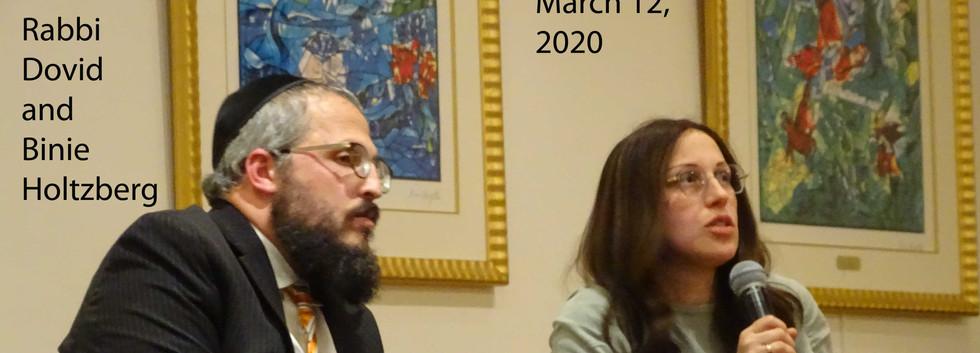 Rabbi Dovid & Binie Holtzberg