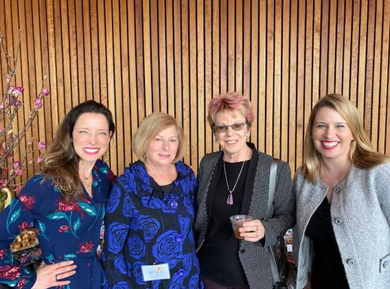 Justine Stock, Susan Greenbaum, Amy Anderson, Nicola Reilly
