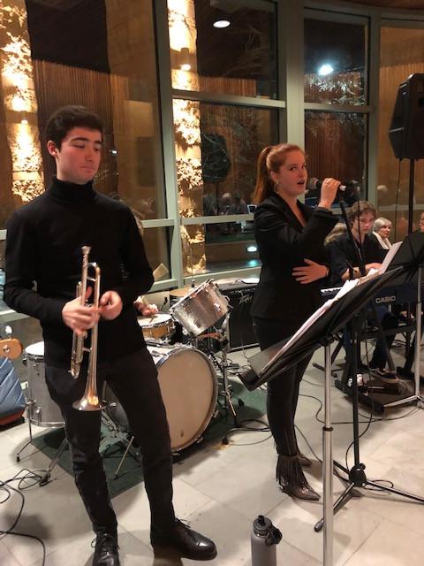 Ryan Knight and Carmel High School Music Ensemble