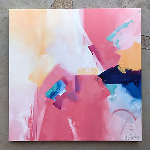 Pink Series: Blocked II