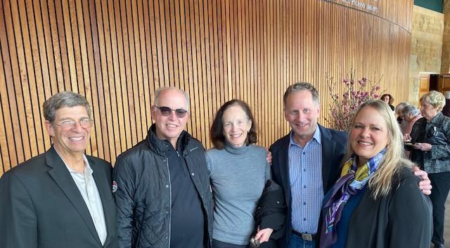 Rabbi Bruce Greenbaum, Dr. Steven Packer, Ann Packer, Dr. David Awerbuck, Dr. Astrid Holberg