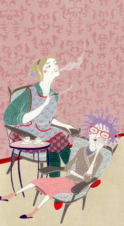 """Pia Taccone illustra """"Le giornate"""" di Andreea Simionel"""