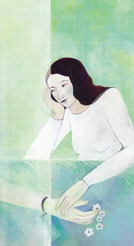 """Lucilla Conduelle illustra """"Schermo tattile"""" di Riccardo Giacomini"""