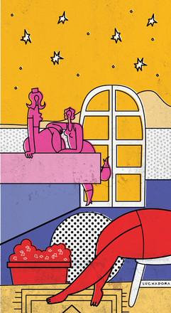"""Alessandra Marianelli illustra """"La regina di Saba"""" di Silvia Miotti"""