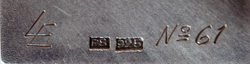 cropped cu of details on the back