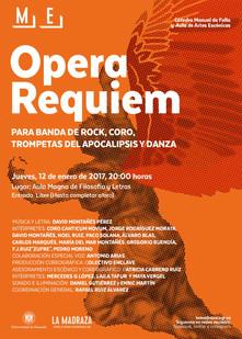 Opera Réquiem para Banda de Rock, Coro, Trompetas del Apocalipsis y Danza