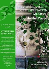 Concierto Inaugural de la 33 edición de los Cursos Internacionales de Interpretación Musical Eduardo