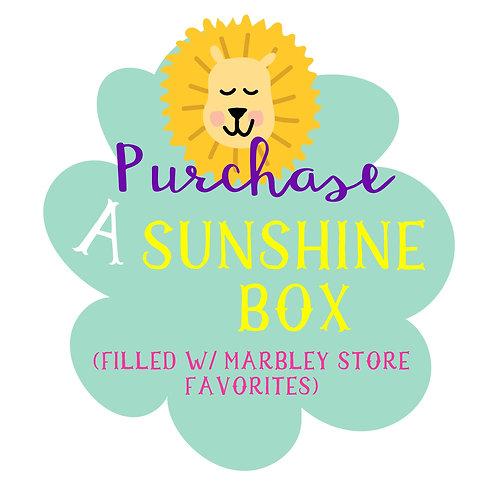 Marbley Sunshine Box