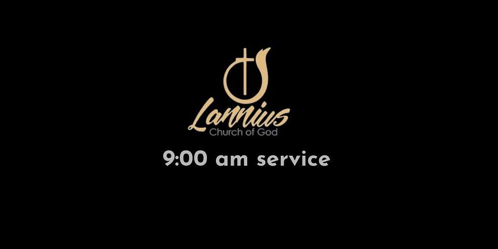 Sunday Service  |  6-21-20  |  9:00 am service