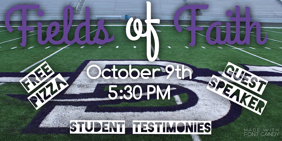 Field of Faith - Consumed Student Ministry