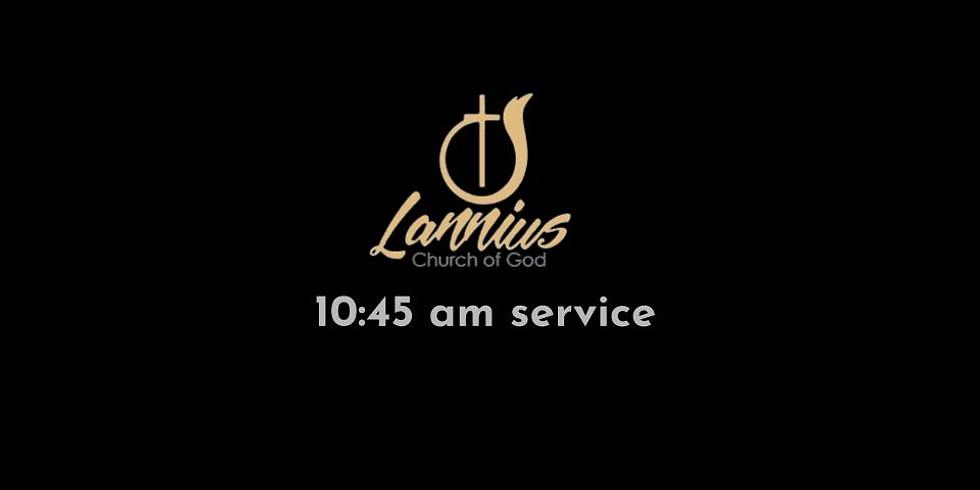 Sunday Service.  |  6-14-20  | 10:45 am
