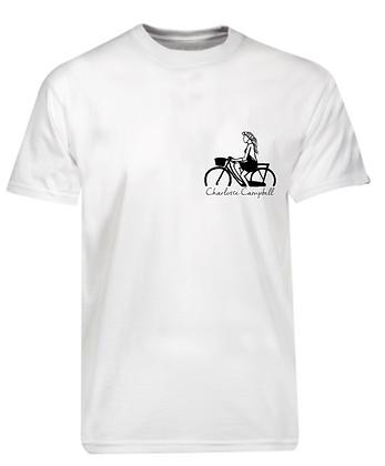 White Bike T Shirt