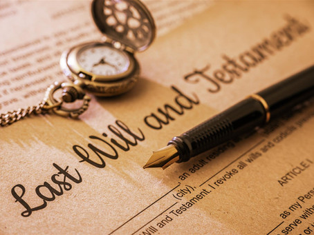 Why you should always use a professional to prepare your Will