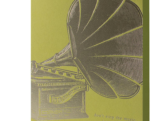 DONT STOP THE MUSIC BIRTHDAY BESPOKE CARD