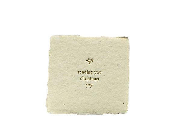 BESPOKE SMALL CARDS - SENDING YOU CHRISTMAS JOY