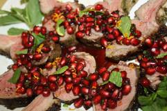 Pomegranate Lamb Pops