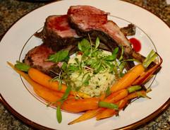Roast Rack of Lamb