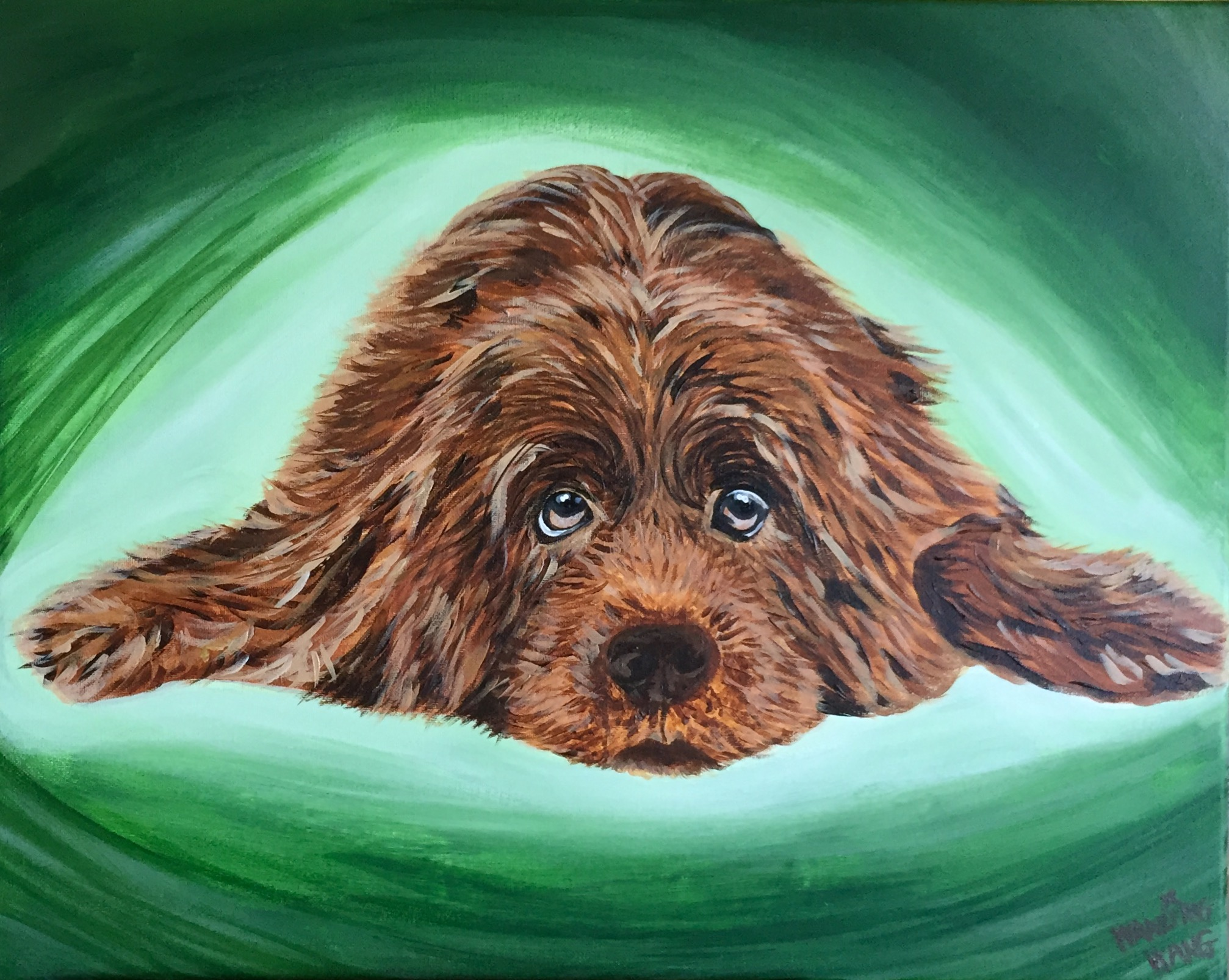 Custom Dog Portrait