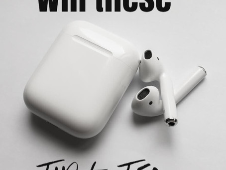 Win Airpods and a book before it is released!