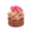 Nugátová tortička  - Mini zákusky
